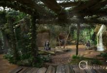 Zoo Hannover Schimpansen-Innengehege