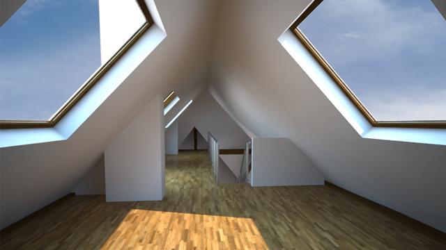 Dachgeschossausbau Hannover Vahrenwald LP 1 - 9