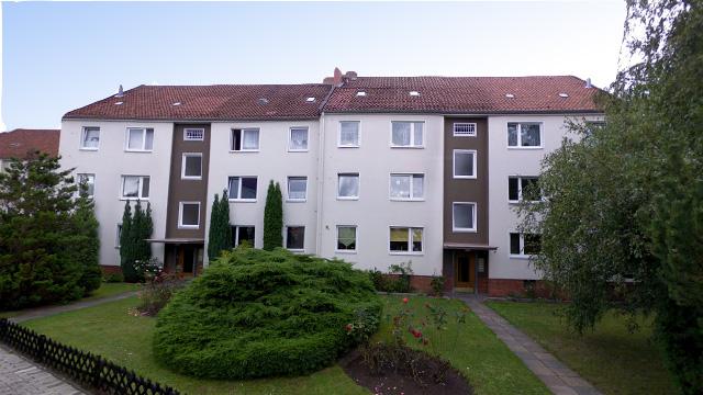 Bauantrag vorgestellte Balkonkonstruktion WEG Am Büchenberge LP 1 - 4 + 8